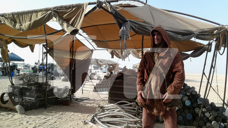 Star Wars Episode VII set pic2