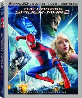 the amazing spider-man 2 blu ray cover