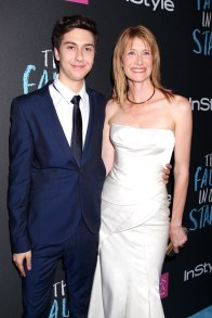 Dave Allocca/Startraksphoto.com Nat Wolff and Laura Dern