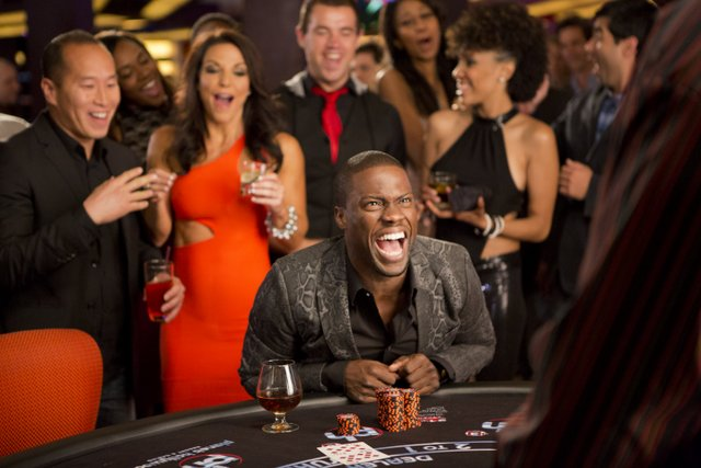 Matt Kennedy/Screen Gems Cedric (Kevin Hart) gambling,
