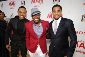 SPE, Inc./Eric Charbonneau Terrence Jenkins, Producer William Packer and Michael Ealy