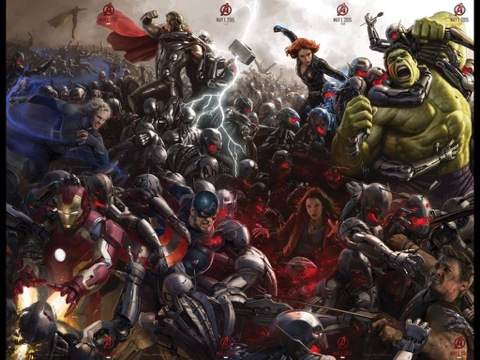 avengers age of ultron finished pic