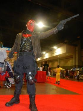 Cosplay C - Jordan as Red Hood