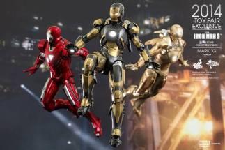 Hot Toys Iron Man Mark XX Python Armor - with armada2