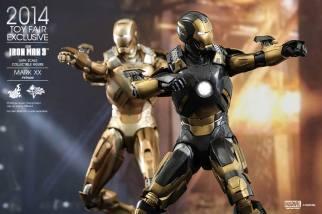 Hot Toys Iron Man Mark XX Python Armor - with Midas armor