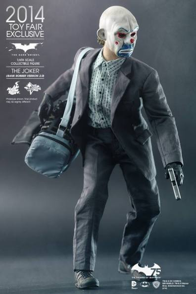 Hot Toys Joker exclusive with bag and gun