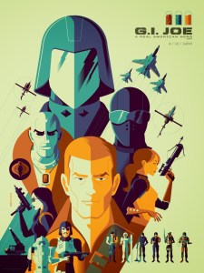 NYCC 2013 print by Tom Whalen