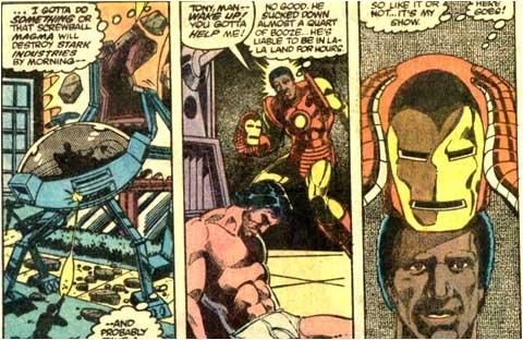 Rhodey as Iron Man