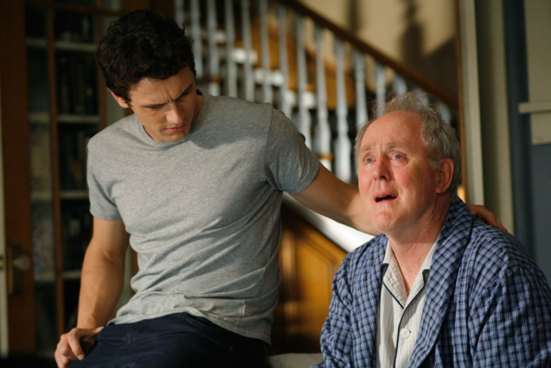 rise-of-the-planet-of-the-apes- james franco and john lithgow