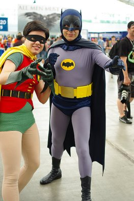 SDCC2014 cosplay - 60s Batman and Robin