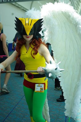 SDCC2014 cosplay -Hawkgirl