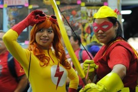 SDCC2014 cosplay - Kid Flash and Speedy