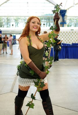 SDCC2014 cosplay - Poison Ivy