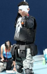 SDCC2014 cosplay - Punisher