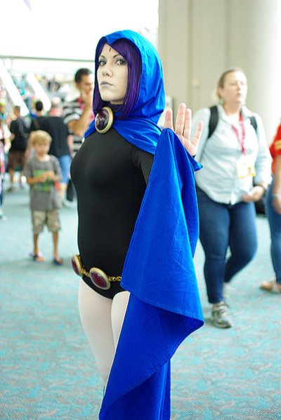 SDCC2014 cosplay - Raven