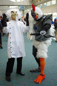 SDCC2014 cosplay - Robot Chicken
