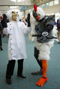 SDCC2014 cosplay - Robot Chicken