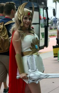 SDCC2014 cosplay - She-Ra