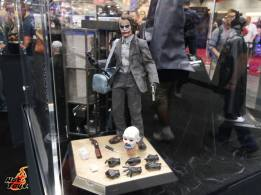 SDCC2014 Hot Toys display - Dark Knight Joker display