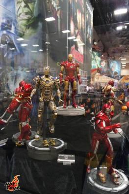 SDCC2014 Hot Toys display - Iron Man display