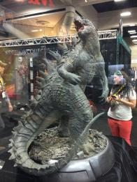 SDCC2014 Sideshow display - Godzilla
