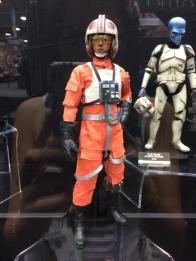 SDCC2014 Sideshow display - Luke Skywalker in X-Wing gear