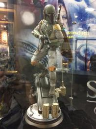 SDCC2014 Sideshow display - Star Wars Boba Fett