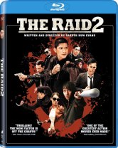 the raid 2 blu ray cover