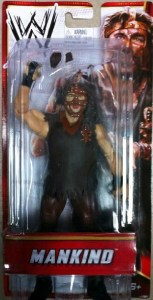 Amazon exclusive WWE Mankind debut in package