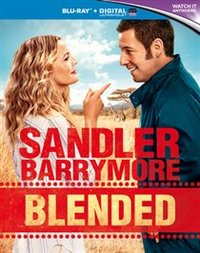 blended blu ray cover