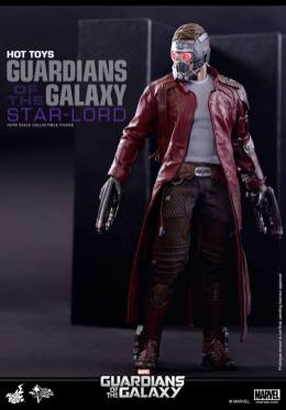 Hot Toys Guardians of the Galaxy - Star Lord with mask and guns