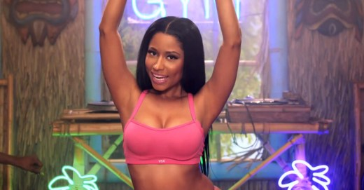 nicki minaj - pink top