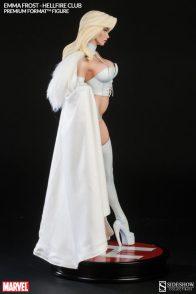Sideshow Premium Format Emma Frost Hellfire Club - side shot2