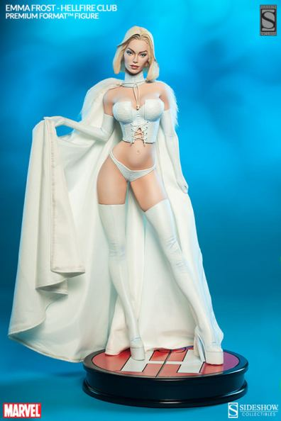 Sideshow Premium Format Emma Frost Hellfire Club - wide