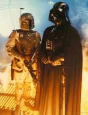 star wars empire strikes back - boba fett and darth vader