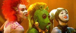 star wars return of the jedi - jabba dancers