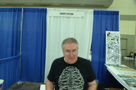 Baltimore Comic Con 2014 - Barry Kitson