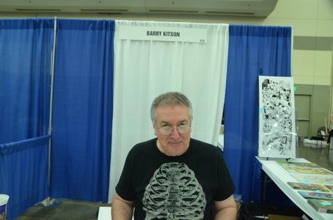 Baltimore Comic Con 2014 - Barry Kitson