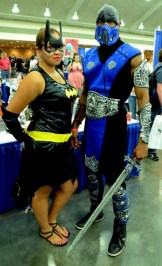 Baltimore Comic Con 2014 - Batgirl and Sub Zero