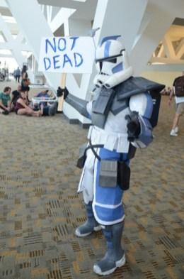 Baltimore Comic Con 2014 - Clone trooper