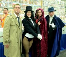 Baltimore Comic Con 2014 - Constantine, Zatanna, Phantom Stranger