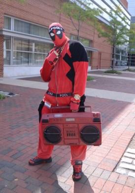 Baltimore Comic Con 2014 - Deadpool boombox