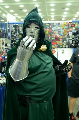 Baltimore Comic Con 2014 - Dr. Doom