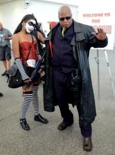 Baltimore Comic Con 2014 - Harley Quinn and Morpheus