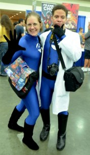 Baltimore Comic Con 2014 - Invisible Woman and Reed Richards