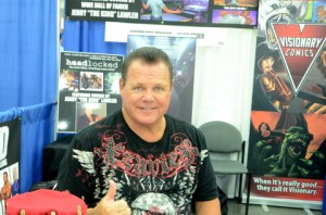 Baltimore Comic Con 2014 - Jerry Lawler