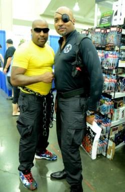 Baltimore Comic Con 2014 - Luke Cage and Nick Fury