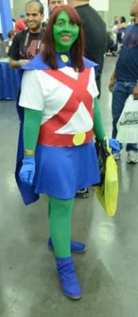 Baltimore Comic Con 2014 - Miss Martian