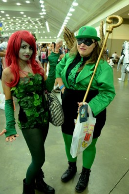 Baltimore Comic Con 2014 - Poison Ivy and Riddler