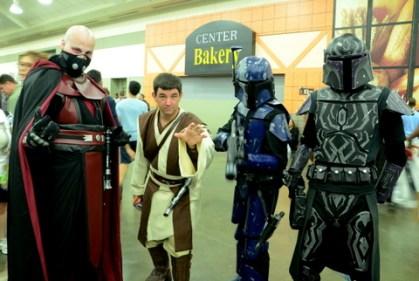 Baltimore Comic Con 2014 - Sith, Jedi and Mandalorian